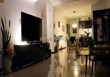 Selling apartment 4 bedrooms in Hoang Anh River with low floor view with furniture