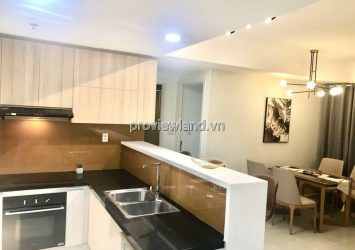 Masteri Thao Dien sells 3 bedroom apartment with airy furniture