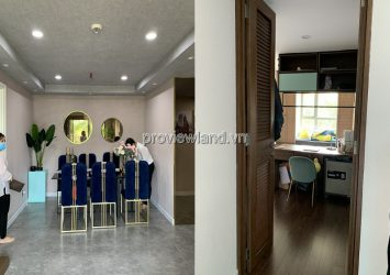 Masteri Thao Dien low-rise apartment with 3 bedrooms luxurious interior