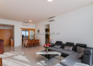 Apartment in District 2 for rent at The Vista 3 bedrooms with high quality furniture