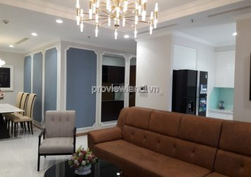Vinhomes Central Park Binh Thanh 3 bedrooms fully furnished for rent