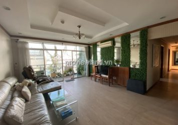 Apartment for rent at Hoang Anh Riverview 4 bedroom furnished available