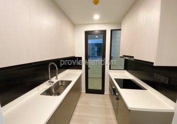 Apartment for rent in D'edge Thao Dien District 2 middle floor with bedroom river view