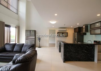 Duplex apartment for sale in Masteri Thao Dien with 5 bedrooms 2 floors with garden