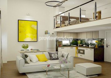 Serviced apartment building for sale in Ben Van Don District 4 with 7 storey