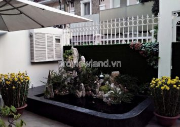 Selling Tran Nao villa, Compound area, 3 floors, 208m2, pink book