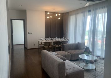 D'edge Thao Dien apartment for rent low floor with 3 bedrooms and full furnished
