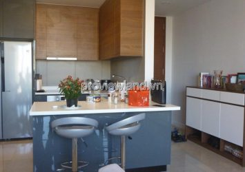 The Nassim Thao Dien apartment for rent in mid-floor with full furnished including 2 bedrooms