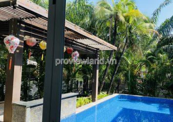 Villa for rent in Compound Kim Son Thao Dien area, area 700m2