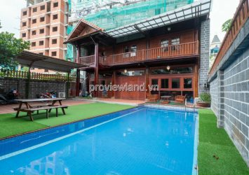 Thao Dien villa for rent, Compound area 18 self-contained villas, area 350m2