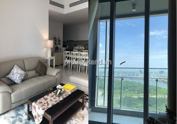 Empire City apartment for rent in District 2 has furnished 2 bedrooms