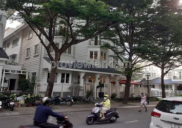 Selling Saigon Pearl villa, Binh Thanh 1 ground floor 2 floors with parking garage