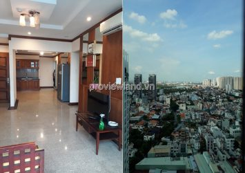 Hoang Anh River View apartment in district 2 with 3 bedrooms for rent furniture