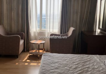 Saigon Pearl apartment for rent in Ruby 1 building fully furnished with 3 bedrooms