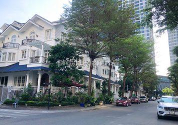 Binh Thanh villa for rent, Saigon Pearl project, 7x21m, 1 basement + 4 floors