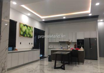 Vinhomes Central Park villa for rent land area 275m2, 1 ground floor 2 floors, 5 bedrooms