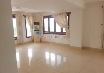 Pool villa for rent in front of Nguyen U Di Thao Dien with land area 1000m2