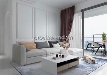 Estella Heights apartment for sale low floor in T4 tower with full furnished 3 bedrooms