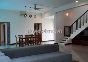 Riviera An Phu Villa for rent is 290m2 with 4 bedrooms