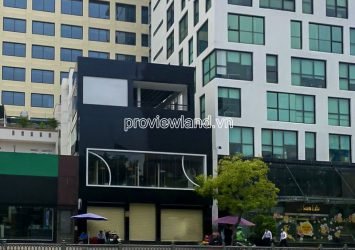 Townhouse for sale in front of Nam Ky Khoi Nghia with 3 floors land area 220m2