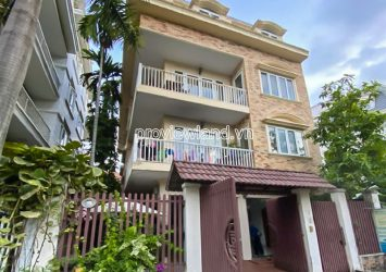 Serviced apartment building for sale in Thao Dien Compound with area 10x20m