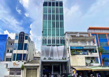 For sale Office Building in front of Dien Bien Phu District 1 1 basement 7 floors