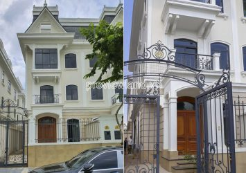 Victoria Village District 2 villa has area of 8x20m with 3 floors good price