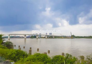 The land for sale at Long Phuoc District 9 riverside with area 2142m2