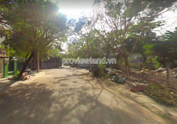 The land for rent 434m2 at Nguyen Van Huong Thao Dien street 12m wide