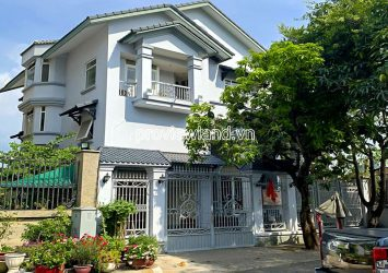 River Mark villa for rent in Binh An District 2 1 ground 2 floors 300m2