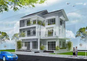 Binh Thanh Villa - Townhouses for sale 2 frontage with area of 177m2