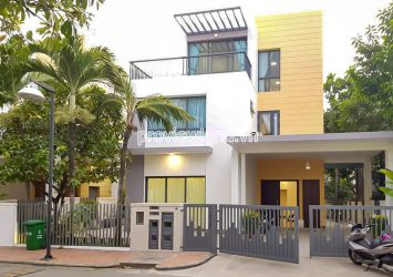 Villa with 3 floors need for rent at Villa Riviera An Phu District 2