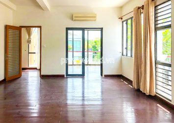 Good price villa for rent at Villa Riviera An Phu District 2 includes 3 floors and garden