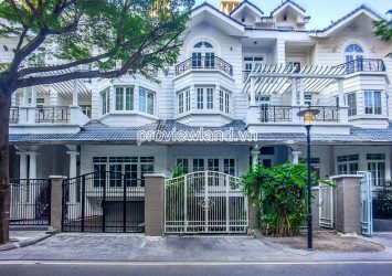 Saigon Pear Villa need for rent area 7x21m with basement and 3 floors