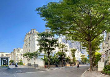 Saigon Pearl villa for rent good price 1 basement 3 floors attic with 147m2