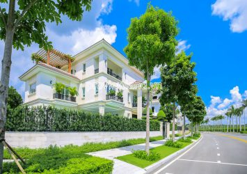 Sala Saroma Dai Quang Minh detached villa for sale with land 590m2