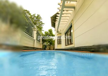 Thao Dien villa in District 2 for rent with garden and swimming pool area 10x25m