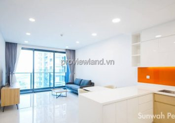 Sunwah Pearl apartment for rent with 2 bedrooms 97m2 with many amenities