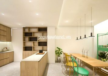 New Townhouse for rent in front of Chu Van An - Binh Thanh 4 floors 80m2