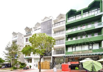 Him Lam Office Building for rent in District 7 includes 1 basement 5.5 floors area 5x125m