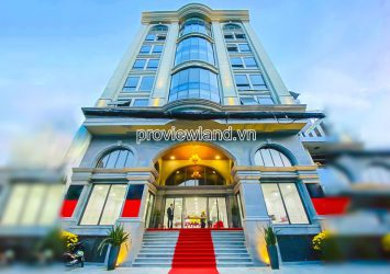 Frontage office building for sale in Tan Binh 1 basement 10 floors area 15.6x22m