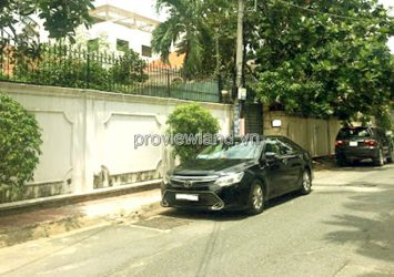 Land for sale in front of Dang Huu Pho street, Thao Dien, area 514m2, pink book
