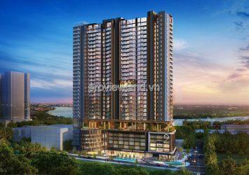 Penthouse for sale in Q2 Thao Dien, original apartment, private elevator, 231.9m2, 2 floors