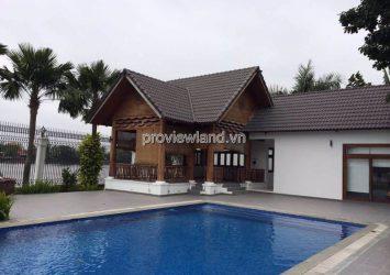 Villa for rent in Thao Dien Ward, riverside villa, area 1600m2 with 7 rooms
