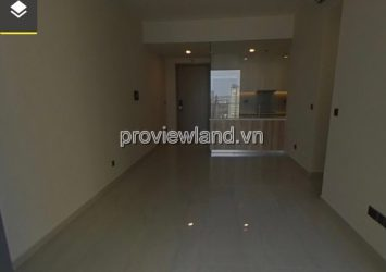 Q2 Thao Dien middle floor apartment with 2 bedrooms without furniture for rent