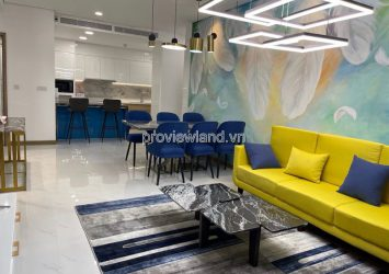 Apartment for rent in Sunwah Pearl modern furniture 2 bedrooms