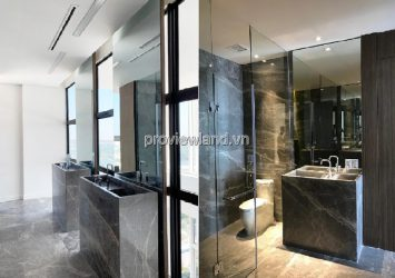 Thao Dien Pearl Penthouse apartment for rent Tower B, 4 bedrooms with garden