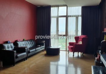 The Vista An Phu apartment for rent on the middle floor full furnished with 3 bedrooms