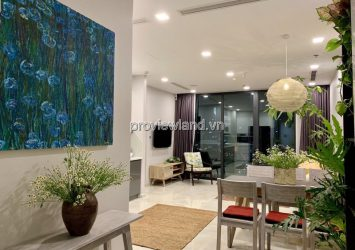 Vinhomes Golden River apartment for rent with 2 bedrooms with river view full furniture