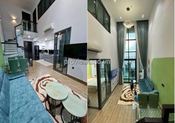 For rent in Feliz en Vista duplex apartment beautiful furnished 2 bedrooms